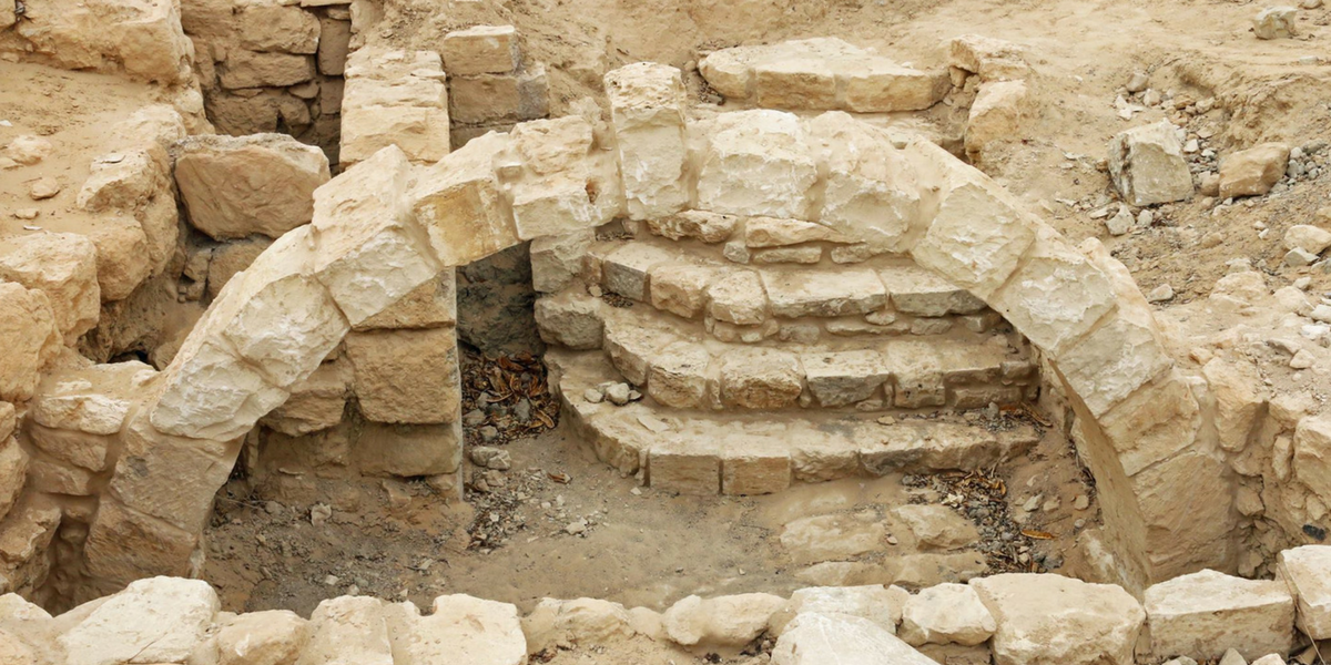 connect to israel tour archaeological ruins