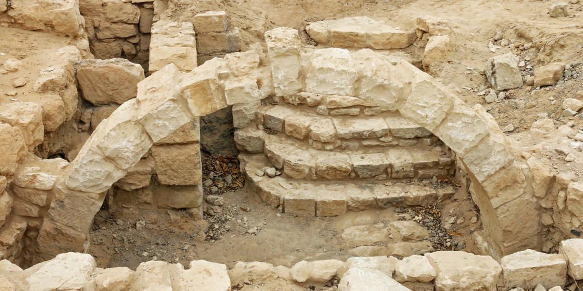 biblical tamar ruins israel