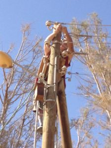 fixing electricity biblical tamar park