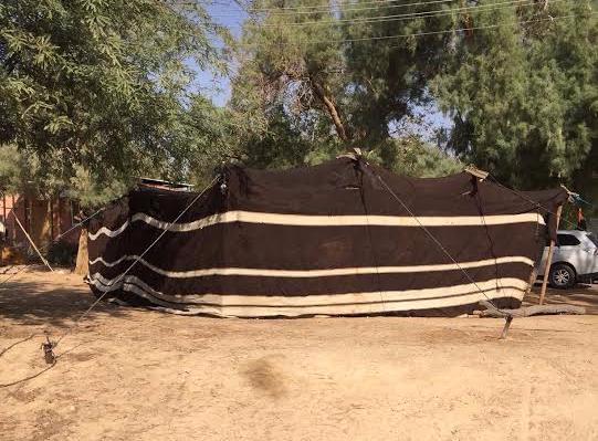 hand woven tent biblical tamar